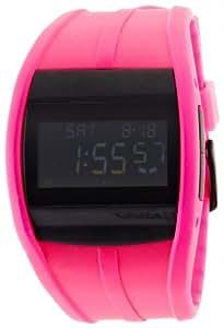 Vestal Unisex CRU007 Crusader Digital Neon Pink Surf Watch