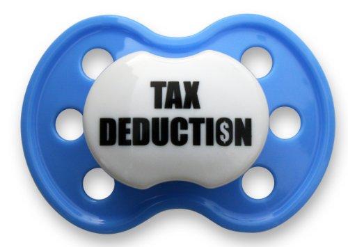 Booginhead Pacifier, Tax Deduction Dark Blue