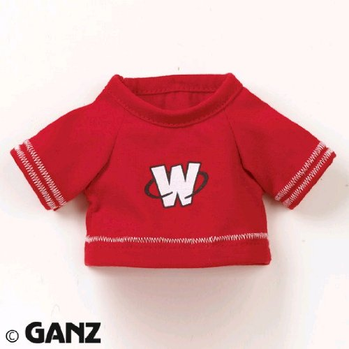 Webkinz Clothing - Red Football Jersey