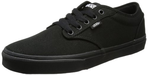 Vans Mens Atwood M Low-Top VTUY186 Canvas/Black/Black 14 UK, 49 EU