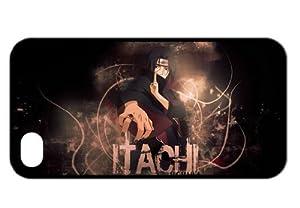 Treasure Design Naruto Itachi Funny Iphone 4/4s Durable Silicone Cover Case