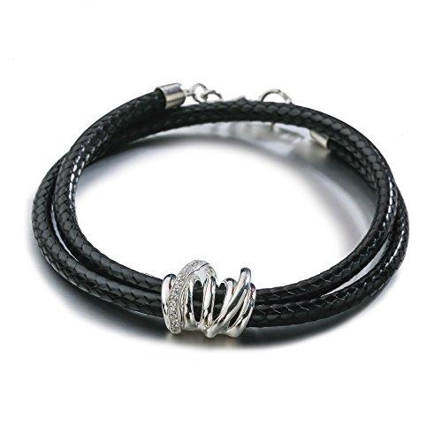 plata-de-ley-silverage-negro-leather-wrap-pulsera