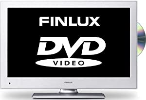 Finlux 19H6030S-D 19 Inch Widescreen HD Ready LED Multi-Region DVD Combi TV with Freeview, Silver