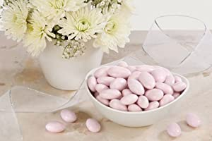 Lavender Jordan Almonds (5 Pound Bag)
