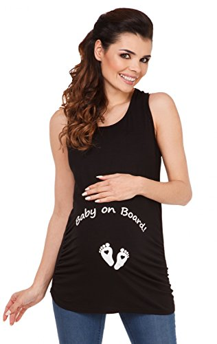 Zeta-Ville-Maternit-Dbardeur-de-grossesse-motif-humour-imprim-femme-072c