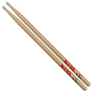 vic firth 5a nova drum sticks nylon tip 1 pair musical instruments. Black Bedroom Furniture Sets. Home Design Ideas