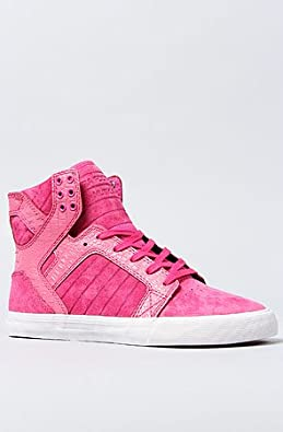 SUPRA The Pink Party Skytop Sneaker 8 Pink