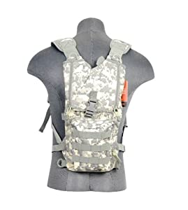 Lancer Tactical CA-321A Lightweight Airsoft Hydration Pack (ACU)