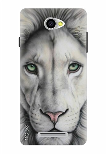Noise White Lion Printed Cover For Panasonic P55