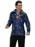Forum Novelties Men's 70's Disco Dynamite Dude Costume Shirt