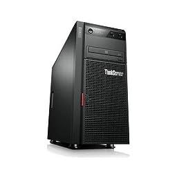 Lenovo ThinkServer 70B7002RUX 5U Tower Server - Intel Xeon E5-2420 V2 2.20 GHz - 2 Processor Support - 8 GB Standard/192 GB Maximum RAM - RAID Supported Controller - Gigabit Ethernet - RAID Level: 0, 1, 1+0 - 800 W