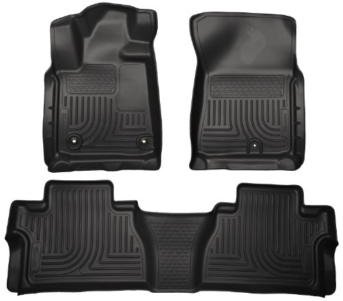 Husky Liners 99581 WeatherBeater Black Front and 2nd Seat Floor Liner