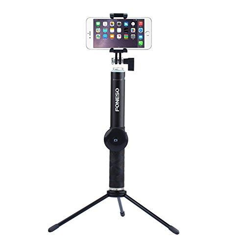 Selfie stick, Foneso Extendable Aluminum Selfi-portrait Monopod Stick