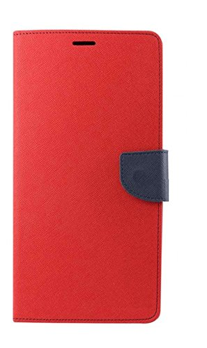 DENICELL Royal Dairy Style Flip Cover For MICROMAX CANVAS NITRO-A310 (CANDY RED)  available at amazon for Rs.197