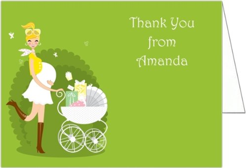 Gift Buggie Baby Shower Thank You Cards - Set Of 20 front-1032974
