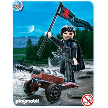 Playmobil 4872 Robber Knight with Cannon - 1