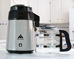 Amazon Com Megahome Countertop Water Distiller Stainless