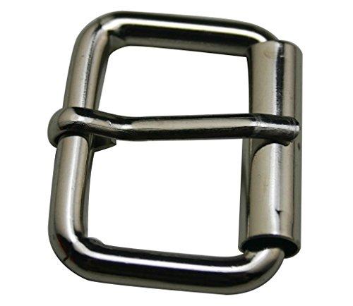 Generic Metal Silvery 1.25 Inch Inside Length Rectangle Buckle belt Buckle Handbag Buckle Luggage Accessories(Pack of 10)