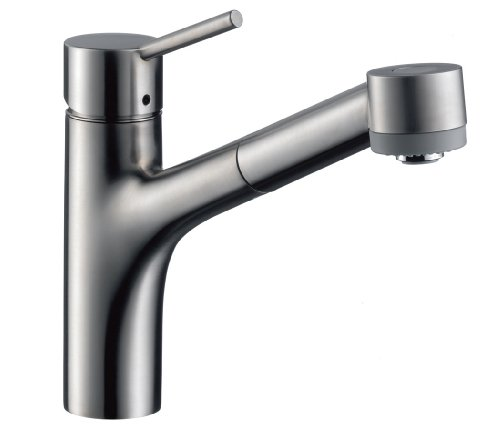 Hansgrohe 06462860 Talis S Single Hole Kitchen, Steel Optik (Talis Kitchen Faucet compare prices)