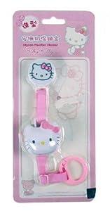Sanrio Hello Kitty Cadena para Chupete de bebe con Tapa de Proteccion marca Hello Kitty - BebeHogar.com