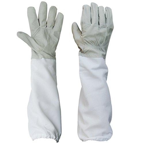 BESTOPE-1-Pair-Beekeeping-Protective-Gloves-w-Vented-Long-Sleeves-433