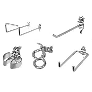 Triton Products 532-2 DuraHook Large Style Pegboard Hook Assortment