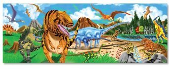 Land of Dinosaurs (48 pc) Floor Puzzle [Toy]