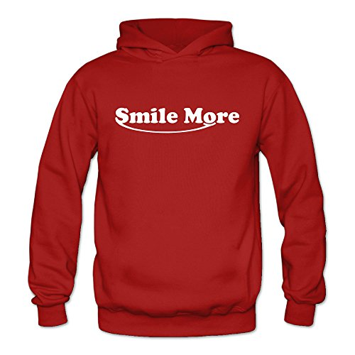firewei-roman-atwood-smile-more-beanie-womens-hooded-sweatshirt-red