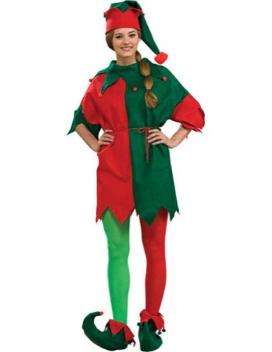 Elfs Tunic Adult Mens Christmas Costume