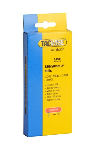 Tacwise 180 Type 50mm Heavy Duty Nails (1000 Pieces)