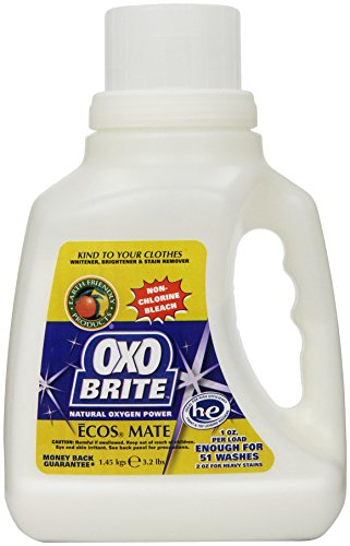 Earth Friendly Products Oxo-Brite, Non-Chlorine Powder Bleach, 3.2 Pounds (Pack of 2) (Bleach Chlorine compare prices)