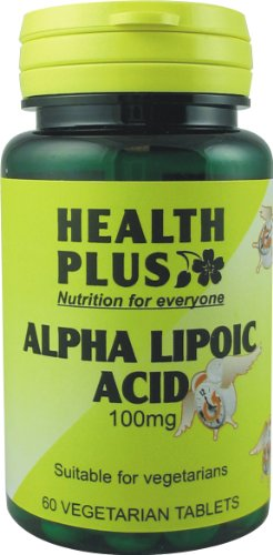 Health Plus Alpha Lipoic Acid Antioxidant Supplement 100mg (60 Tablets)