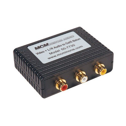 MCM Custom Audio 50-7730 L/R Audio/Video Balun - Import It All