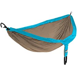 Eagles Nest Outfitters - DoubleNest Hammock, Teal/Khaki