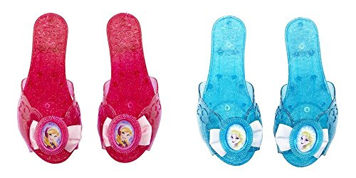 Disney Frozen Elsa's and Anna's Shoes (2 Pairs)