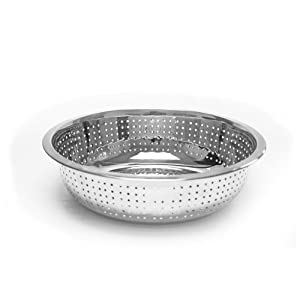 13 Stainless Steel Colander Chinese Style 4.5mm Holes by CHEFS