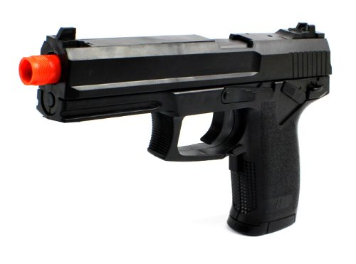 Task Force Electric Blowback Airsoft Pistol Full Auto & Semi Auto Fps-180 Aep Realistic Blowback W/ Hop Up