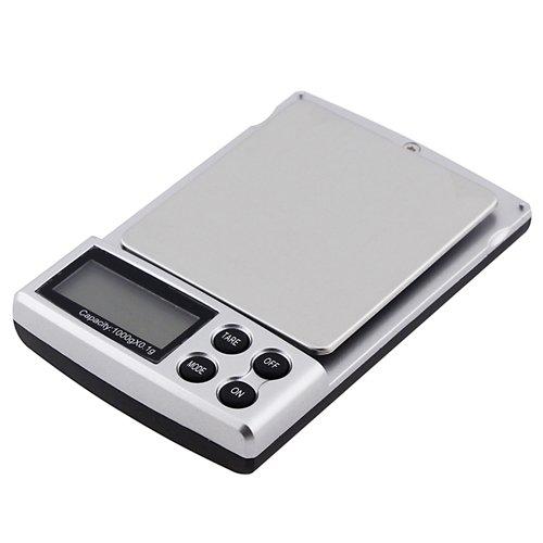 2LB 1000G Detail 0.1g Digital Pocket Scale avec 5 Units Selections