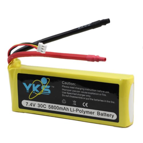 7.4v 5800mah 30c Rechargeable Rc Heli Lipo Battery