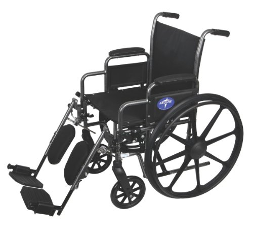 Medline K3 Basic Lightweight Elevating Wheelchairs, 16 Inch
