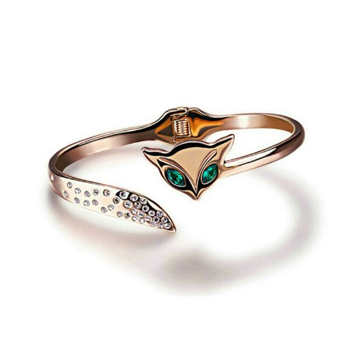 Yoursfs-Fuchs-Armband-18k-Rosegold-vergoldet-mit-grnen-Augen-Warten-auf-Liebe-aus-sterreichischem-Kristall-Geschenk-fr-Frauen