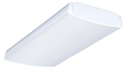 Lithonia Lighting Lbl2 Lp835 2-Feet 3500K Led Commercial Wraparound, White