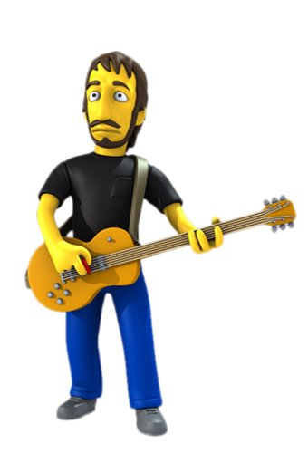 "NECA Simpsons 25th Anniversary - Pete Townshend 5"" Action Figure Series 2"