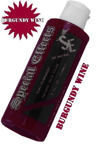 Special Effects Semi Permanent Hair Dye Burgandy