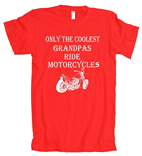 Only The Coolest Grandpas Ride Motorcycles Bike American Apparel T-Shirt