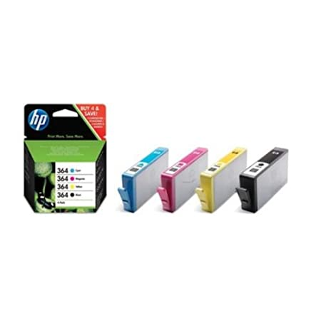 HP - Hewlett Packard PhotoSmart 5510 e-All-in-One (364 / SD 534 EE#301) - original - Inkcartridge multi pack (black, cyan, magenta, yellow)