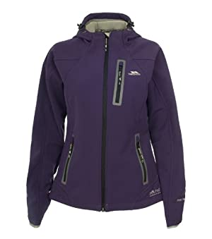 (2.7折)Trespass Catwalk Softshell Jacket女士紫/粉红软壳外套$35.21