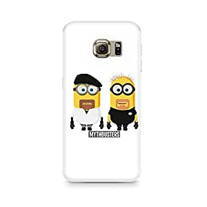Ebby Minion Mythbusters Premium Printed Case For Samsung S6