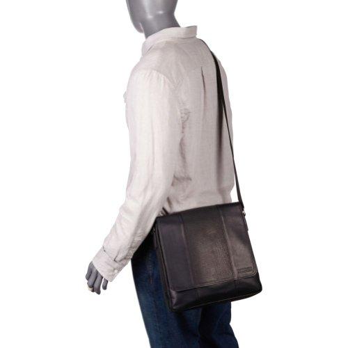 Kenneth Cole REACTION 两款 真皮男士单肩包 均一价美国亚马逊