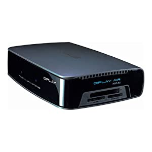 Asus O!Play Air HDP-R3 Media Player, Full HD 1080p, E-Sata, USB 2.0, 10/100 LAN, 300 Mbit WLAN, HDMI 1.3, Cardreader, Schwarz